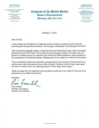 FFC-Letter-From-Congresswoman-Lois-Frankel-2-11-20141