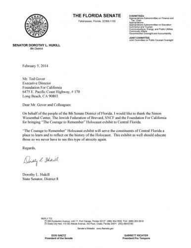 FFC-Thank-You-Letter-From-FL-Senator-Dorothy-Hukill-2-5-141