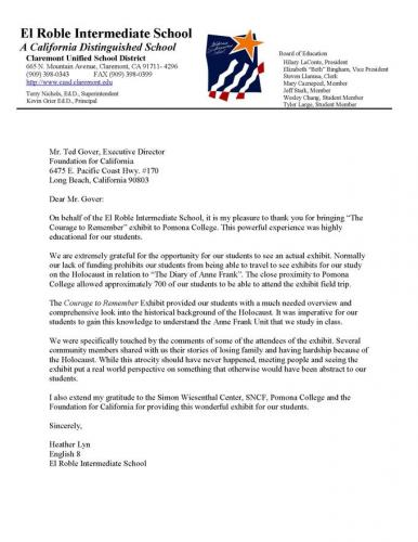 Thank-You-Letter-From-El-Roble-Intermediate-School-Claremont1