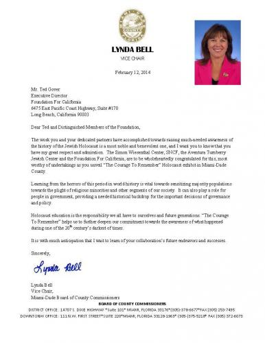 Thank-You-Letter-From-Miami-Dade-Commissioner-Lynda-Bell-2-12-141
